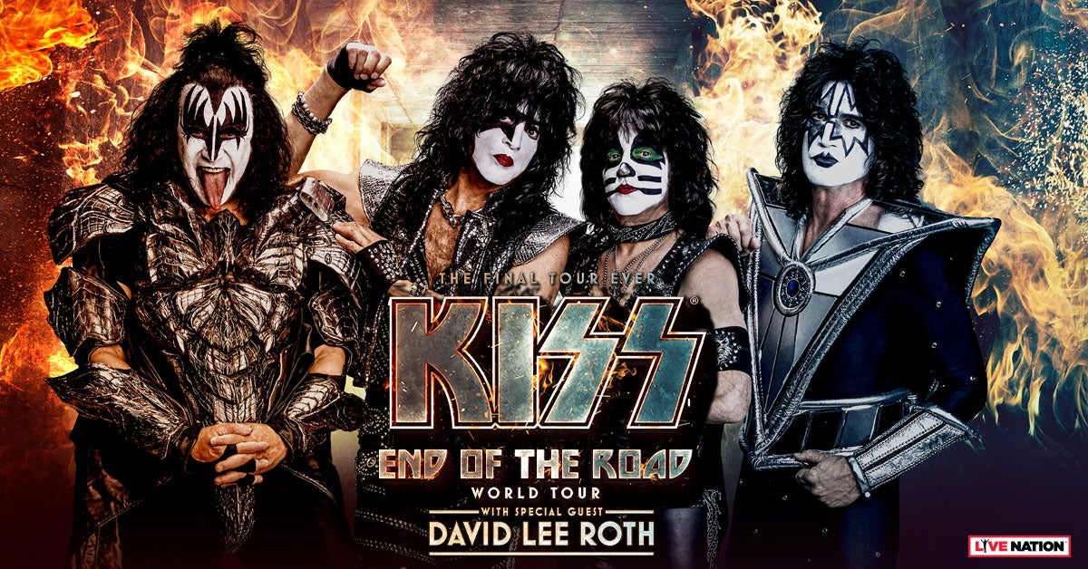 KISS- End of the Road World Tour