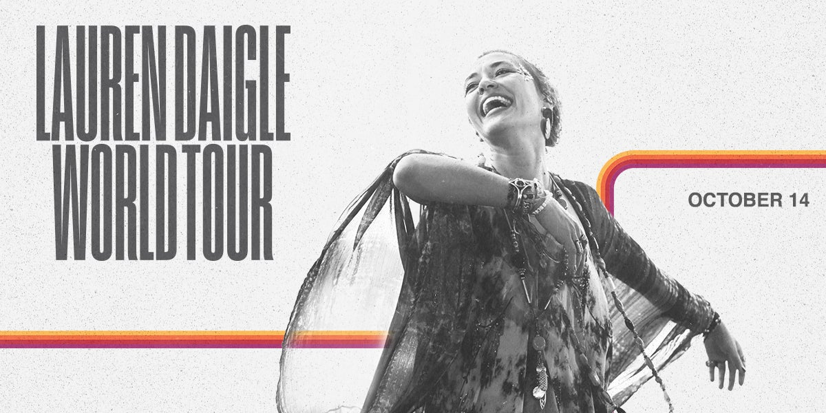 Lauren Daigle World Tour Slideshow Image