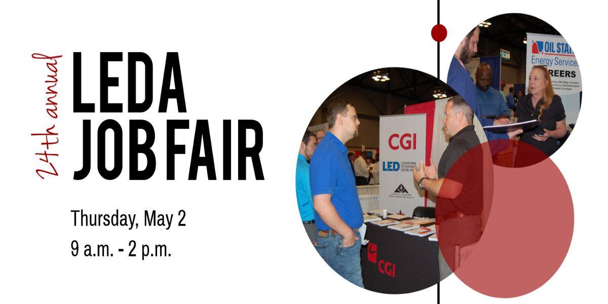 24th Annual LEDA Job Fair