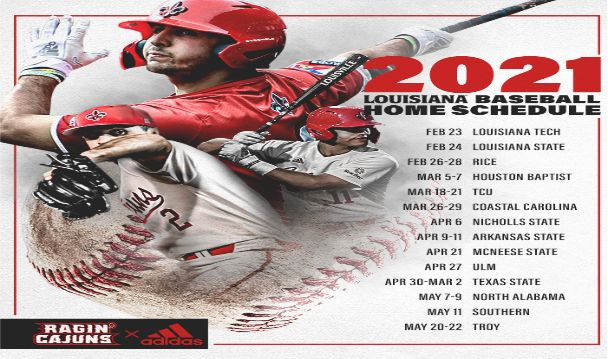 More Info for Ragin' Cajuns Baseball vs. McNeese