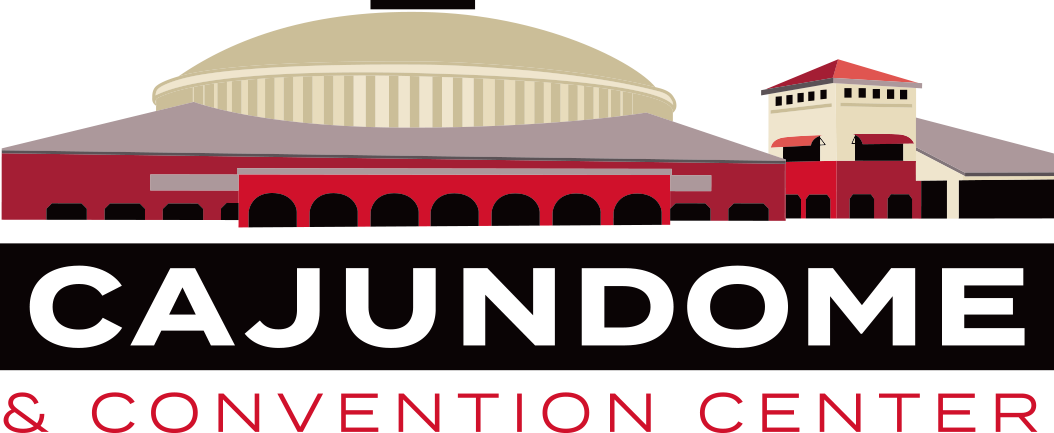 Standard CAJUNDOME Convention Center Logo
