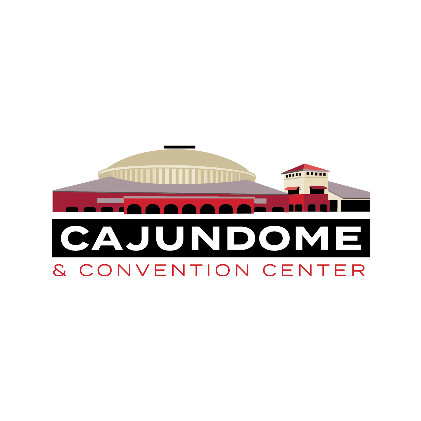 Cajundome_darkbackground_blackbar_fullwhiteoutline_RGB.png