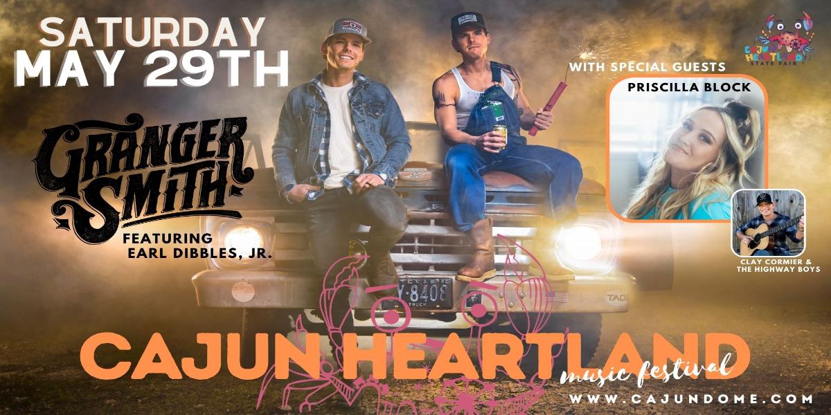 Cajun Heartland Music Festival: GRANGER SMITH