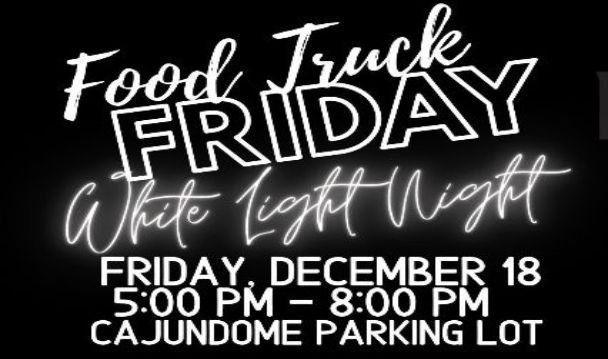 Food Truck Fridays White Light Night Thumbnail Image
