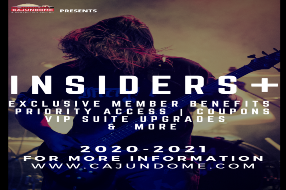 INSIDERS Plus Member Perks