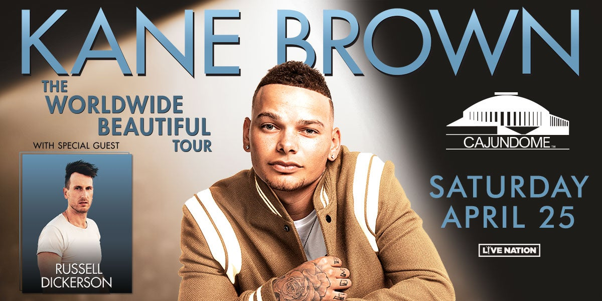 Kane Brown Tour 2020.Kane Brown Cajundome