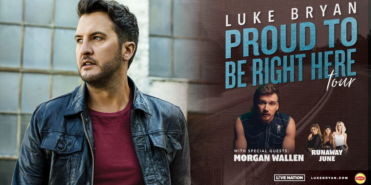 Luke Bryan: Proud To Be Right Here Tour