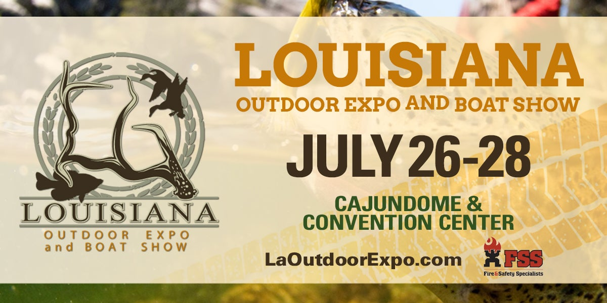 LA Outdoor Expo & Boat Show