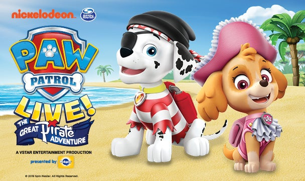 More Info for PAW Patrol Live!