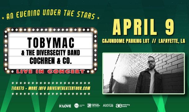 TOBYMAC Announces Spring Drive-In Theater Tour