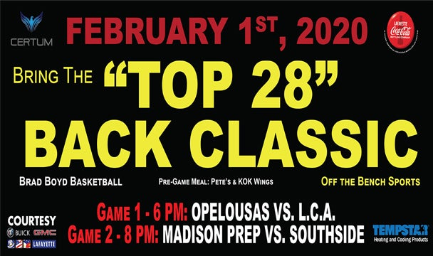 More Info for Bring the Top 28 Back Classic