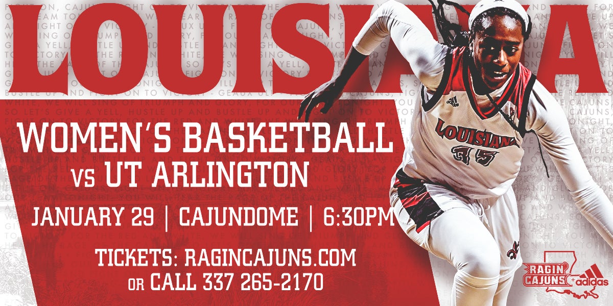 Ragin' Cajun Women's Basketball vs UT Arlingtion