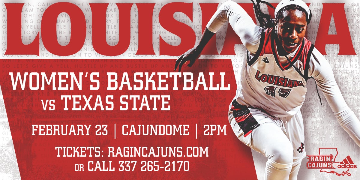 Ragin' Cajun Women's Basketball vs. Texas State