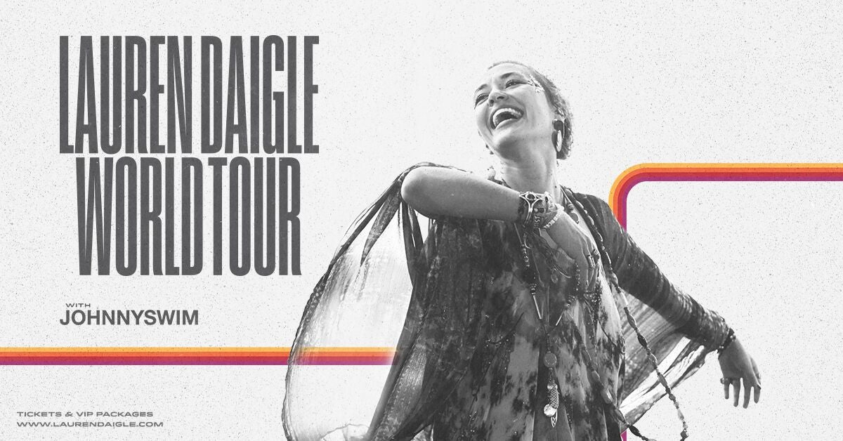 Lauren Daigle World Tour Thumbnail Image