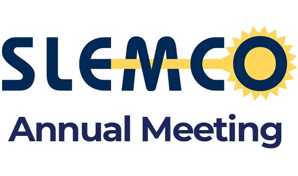 More Info for SLEMCO Annual Meeting