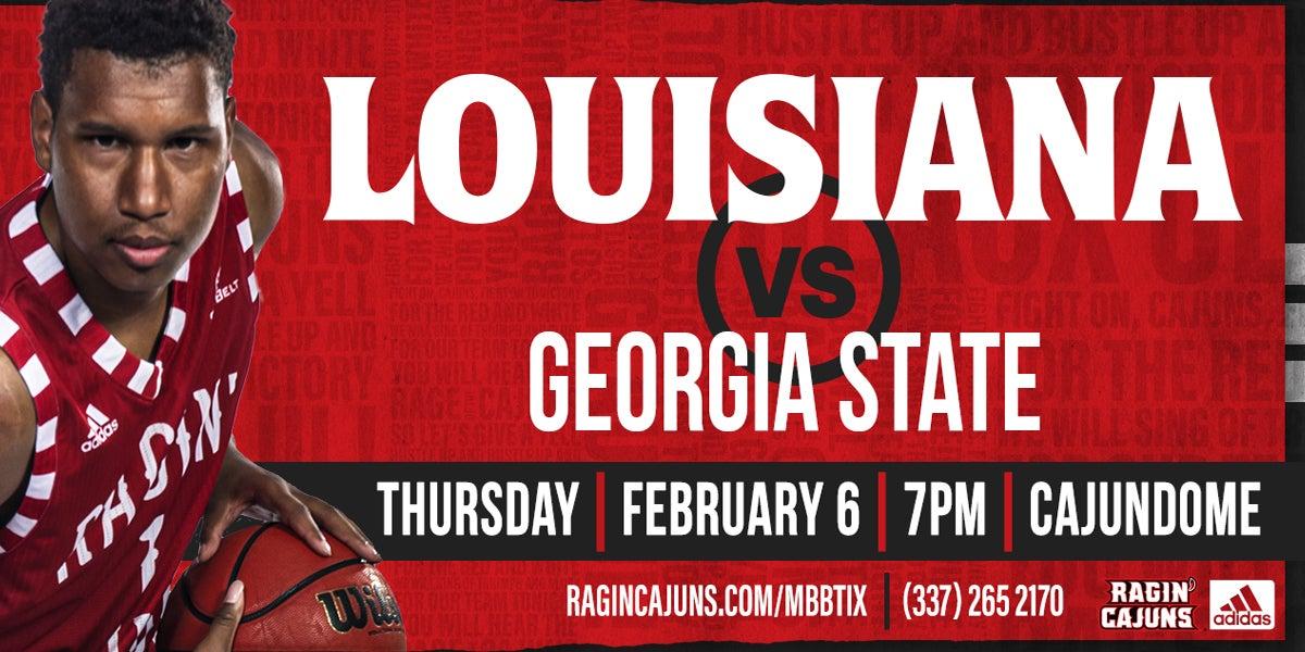 Ragin' Cajun Men's Basketball vs. Georgia State